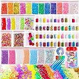 Pllieay 82 Pack Schleim Set Slime Kit Schleim Zubehör Set Kinder Spielzeug