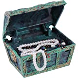 Aquarium Dekorationen, Künstlich Deko Treasure Jewelry Box Ornament für Fisch Tank Aquarium Landschaft Dekoration