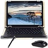 Android 9.0 Tablet 10 INCH Quad-Core-Prozessor 4 GB RAM und 64 GB Tablet PC WiFi-Speicher GPS-Kamera und Zwei Kartensteckplätze (3G Schwarz)