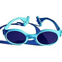Animals Sunglasses Froggy, occhiale protezione sole bambino da 6 mesi a 1, 2, 3 anni, lenti pc INFRANGIBILI UV 400…