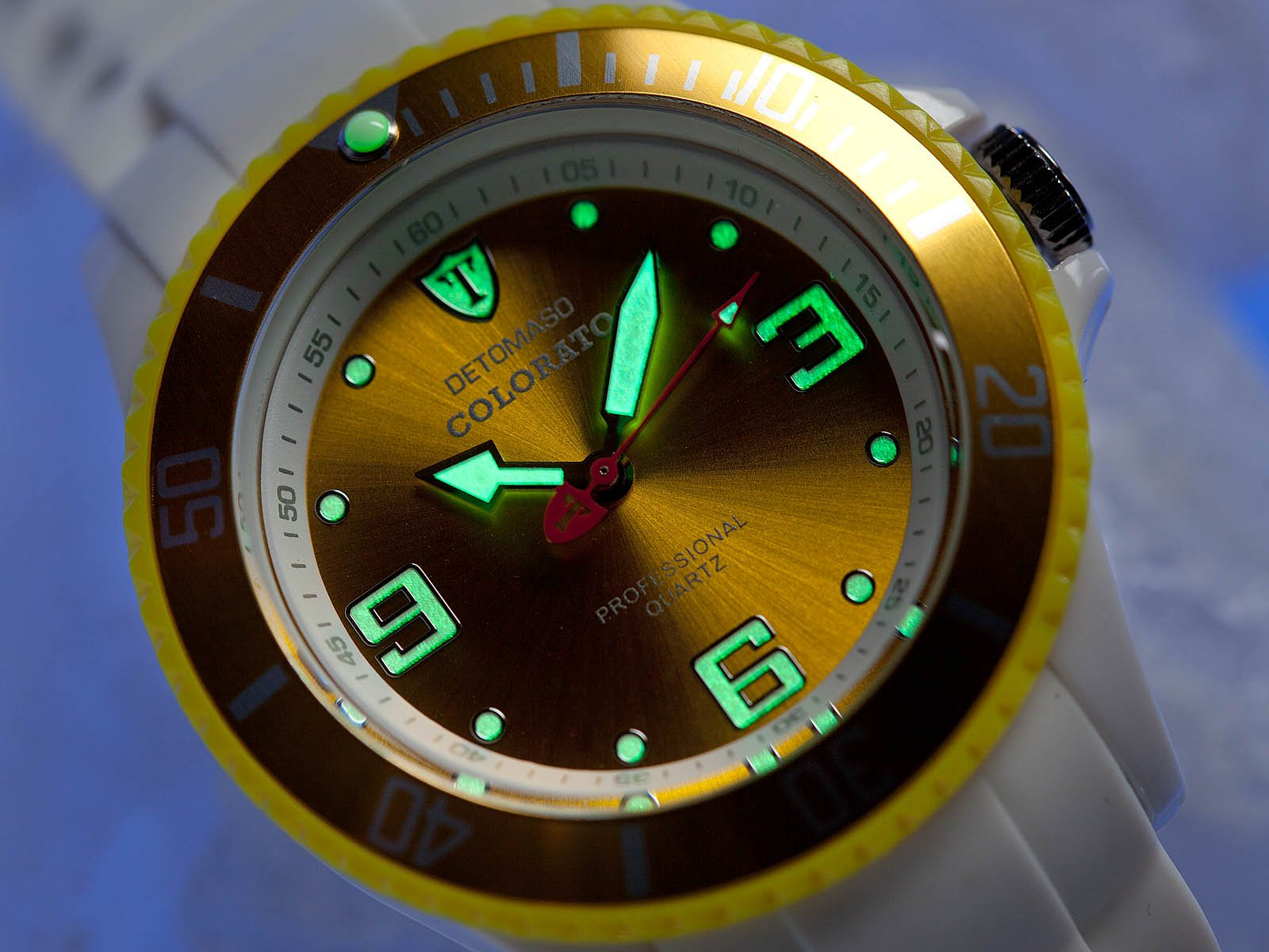 Detomaso DT3007-S – Reloj analógico de Cuarzo para Mujer, Correa