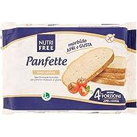 Nutri Free Panfette Pane Casereccio, Senza glutine, 300 g (4 x 75 g)