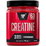 BSN DNA Creatine Monohydrat poeder, creatine geproduceerd voor prestatieverbetering, ongeflavoured, 63 porties, 216 g