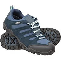 Mountain Warehouse Belfour Womens Walking Shoes - Lightweight Hiking Shoes, Breathable, Lace Up Trainers - for Trekking…
