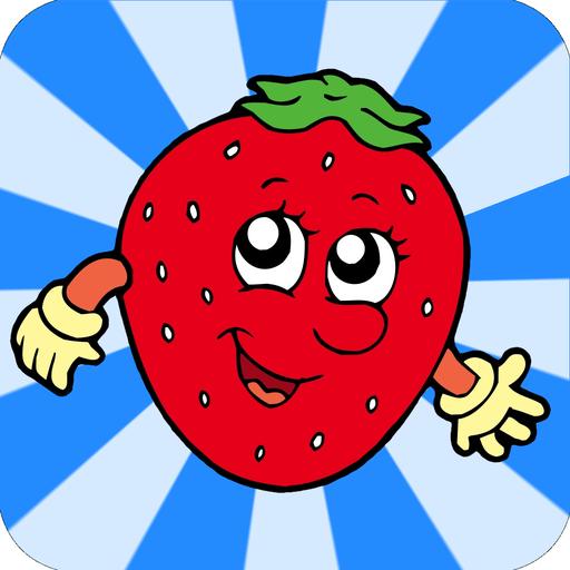 Verbinde die Punkte für Kinder - Zahlen lernen Nahrungsmittel-Edition