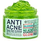 Bella Vita Organic Anti Acne Cream Gel & Pimple Face Gel With Neem, Tulsi & Aloe Vera, 60 g