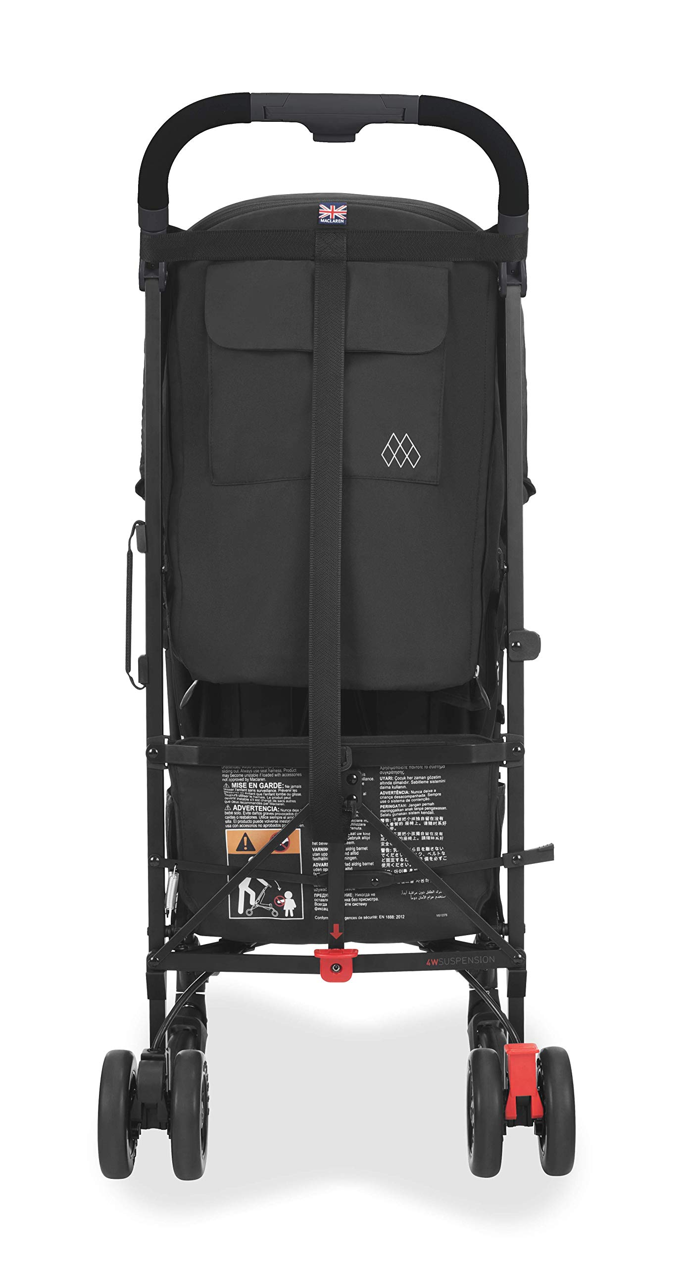 Maclaren Quest Arc Stroller- Ideal for Newborns up to 25kg with extendable UPF 50+/Waterproof Hood, Multi-Position seat and 4-Wheel Suspension. Maclaren Carrycot Compatible. Accessories in The Box Maclaren Lightweight and compact. ideal for newborns and children up to 25kg. you can do it all with one-hand- open, close, push and adjust the seat, footrest and front safety lock Comfy and perfect for travel. the quest arc's padded seat reclines into 4 positions and converts into a new-born safety system. coupled with ultra light flat-free eva tires and all wheel suspension Smart product for active parents. compatible with the maclaren carrycot. all maclaren strollers have waterproof/ upf 50+ hoods to protect from the elements and machine washable seats to keep tidy 4