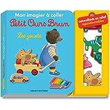 Mon imagier à coller Petit Ours Brun - Les jouets