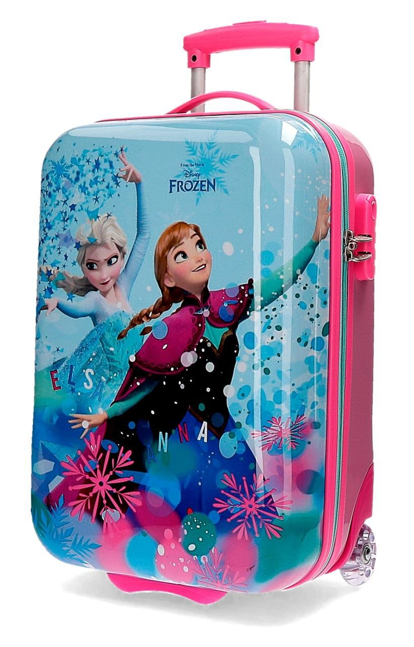 Disney – TROLLEY ABS 55CM.4R.FROZEN STAR