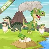 Dinosaurier Spiel für Kleinkinder und Kinder : Entdecken Sie die Welt Jurassic der Dinosaurier ! KOSTENLOS