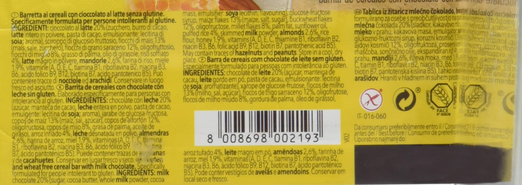 Dr.Schär Cereal Bar - Pacco da 25 x 25 g, Senza glutine 3 spesavip