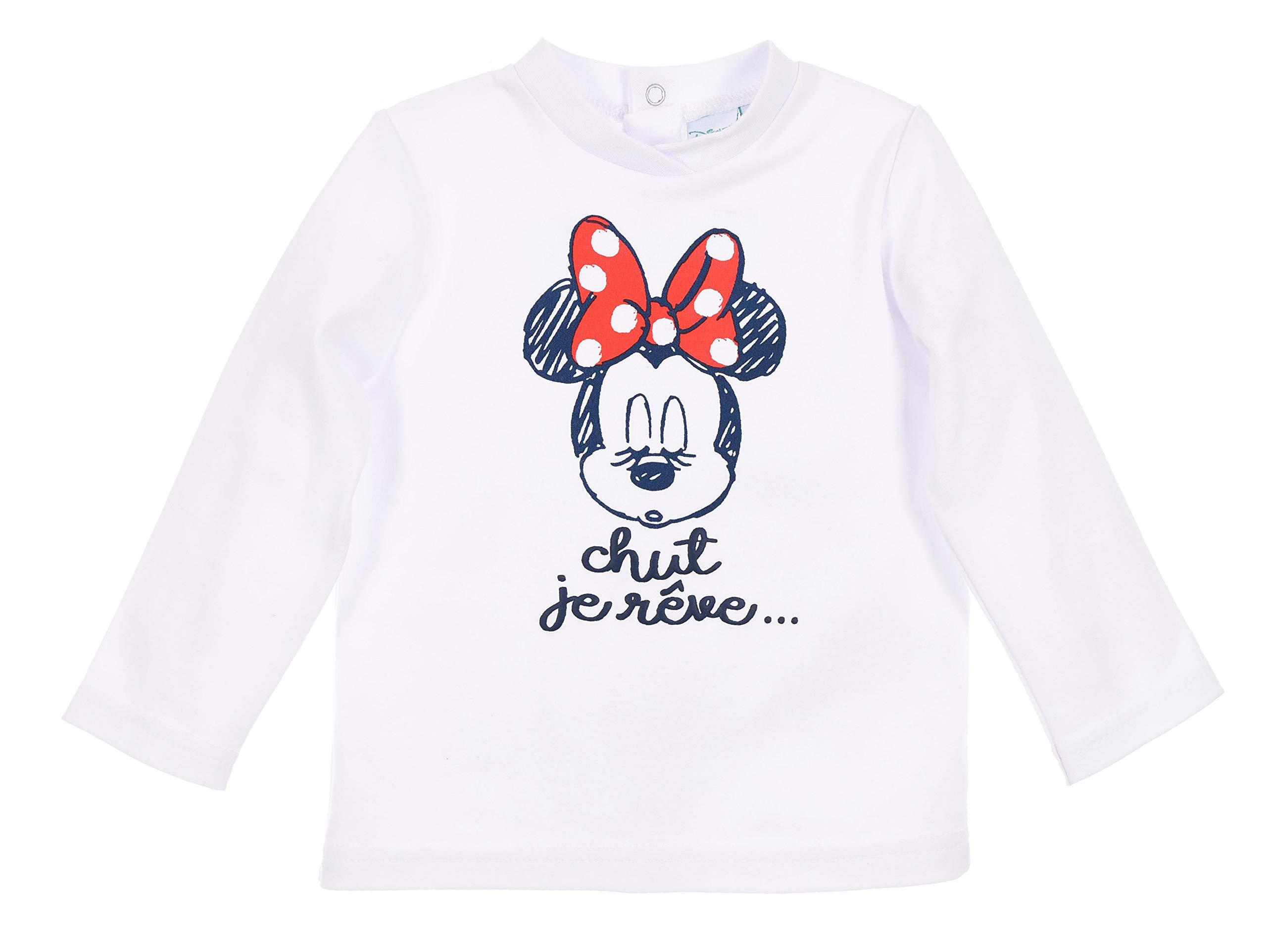 Minnie Mouse bebé-niñas Camiseta + Pantalones 3