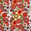 Flower Power - coton-jersey avec impression floral - elastique - tissu vendue au m�tre (blanc)