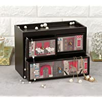 India Circus by Krsnaa Mehta Doors of Mystical Wonder Chest of Drawer