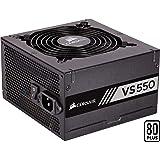 Corsair VS550 Alimentation (550 watts, Active PFC, certifiée 80 PLUS White) Noir