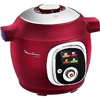 Moulinex Multicuiseur Intelligent Cookeo 6L 6 Modes de Cuisson 100 Recettes Préprogrammées Jusqu'à 6 Personnes Rouge…