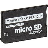 MicroSDHC إلى Memory Stick Pro Duo (بدون تغليف بالتجزئة)