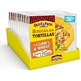 Old El Paso Regular Super Soft Corn & Wheat Tortillas 335 g (Pack of 12)