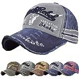 heekpek Berretto da Baseball Cappellino Uomo con Visiera Cappello di Quattro Stagioni Cappello Uomo Vintage Cappello di Sole