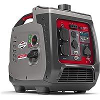 Briggs & Stratton 030800 Benzin Inverter Stromerzeuger Generator der PowerSmart Serie P2400 mit 2400 Watt/1800 Watt…