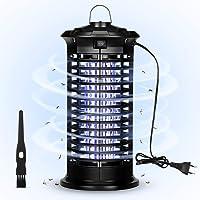 Enibon Lampe Anti Moustique, 6W UV Électrique Tueur De Moustique Lampe,1600V Anti Moustique Interieur, Appareil Anti…