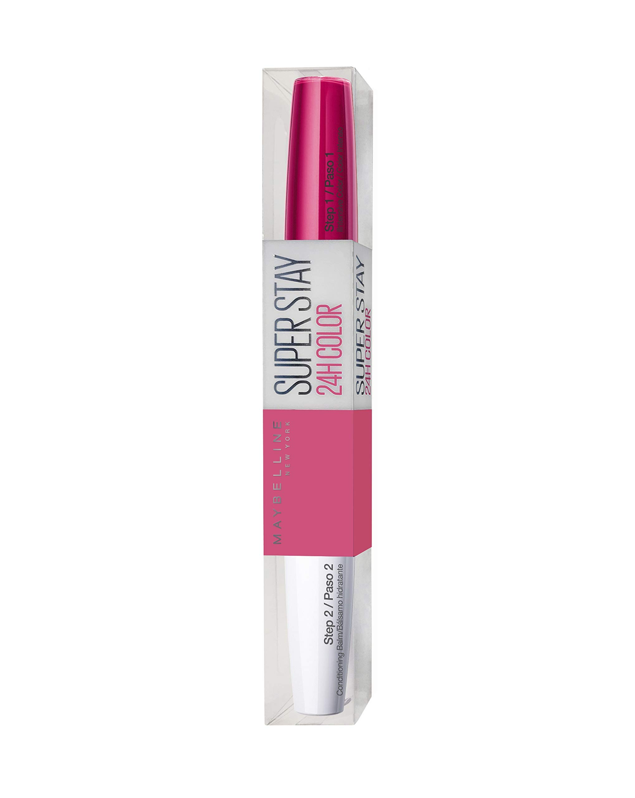 Maybelline Pintalabios Larga Duración Superstay 24H Tono 183 Pink Color Rosa