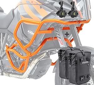 Sturzbügel Scheinwerfer Für Ktm 1290 Super Adventure R S T 17 20 Cb4 Og Auto