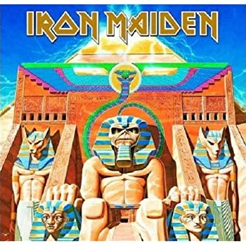 Iron Maiden Greeting Birthday Any Occasion Card Power Slave 100