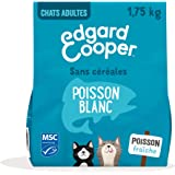 Edgard & Cooper Nourriture Naturelle pour Chat Adulte Croquette sans Cereales , Alimentation Premium Saine complète et équili
