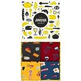 Jimmy Lion Packs de Calcetines para Hombre y Mujer Tallas 36-40   41-46. Calcetines fabricados en Europa.