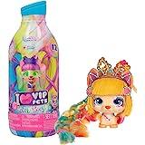 VIP Pets - Color Boost Bambola Cagnolino a Sorpresa da Collezionare con Lunghi Capelli da Acconciare (30 cm), Accessori per C