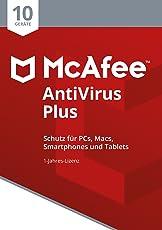 McAfee AntiVirus Plus 2018 für 10 Geräte [Online Code] [Online Code]