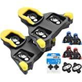 TacoBey Bike Cleats Compatible with Shimano Cleats,Cycling Pedals Cleat for SPD (SH-10 SH-11SH-12) System Shoes - Indoor Outd