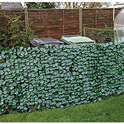Faux Ivy Privacy Fencing