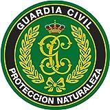 Artimagen Pegatina círculo Guardia Civil Seprona Protección Naturaleza ø 70 mm/ud.
