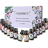 VSADEY Oli Essenziali di Aromaterapia Top 14 Olio Essenziale per Diffusori di Alta Qualità Naturale 100% Puri e Naturale per