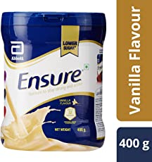 Ensure Complete, Balanced Nutrition Drink for Adults with Nutri – Strength Complex (Vanilla Flavour) – 400g