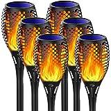 Martiount Lumière solaire de torche Lampe Torche de Jardin Torche Solaire Imperméable Lumières Solaire de Flammes Exterieur D