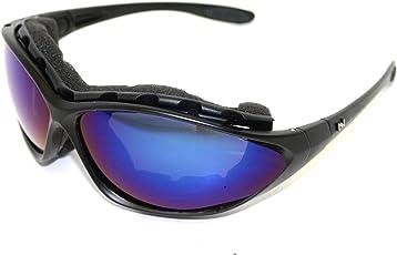 NAVIGATOR POLAR Sport- u. Freizeitbrille, Wechselgläser auch geeignet als Fahrrad- Ski- und Motorradbrille, mit UV400 Standard (Sonnenbrille) und rutschfesten Silikonbügeln für Laufsport/Laufbrille