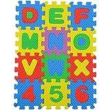 36Pcs bébé Numéro d'enfant Symbole Puzzle mousse de mathématiques Jouet de jouet éducatif