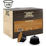 Note D'Espresso Nocciolino Preparato Solubile in Capsule, esclusivamente compatibili con macchine Dolce Gusto* 576 g (48 x 12