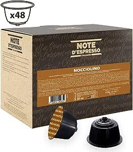 Note D'Espresso Nocciolino Preparato Solubile in Capsule, Caonfezione 48 x 12g