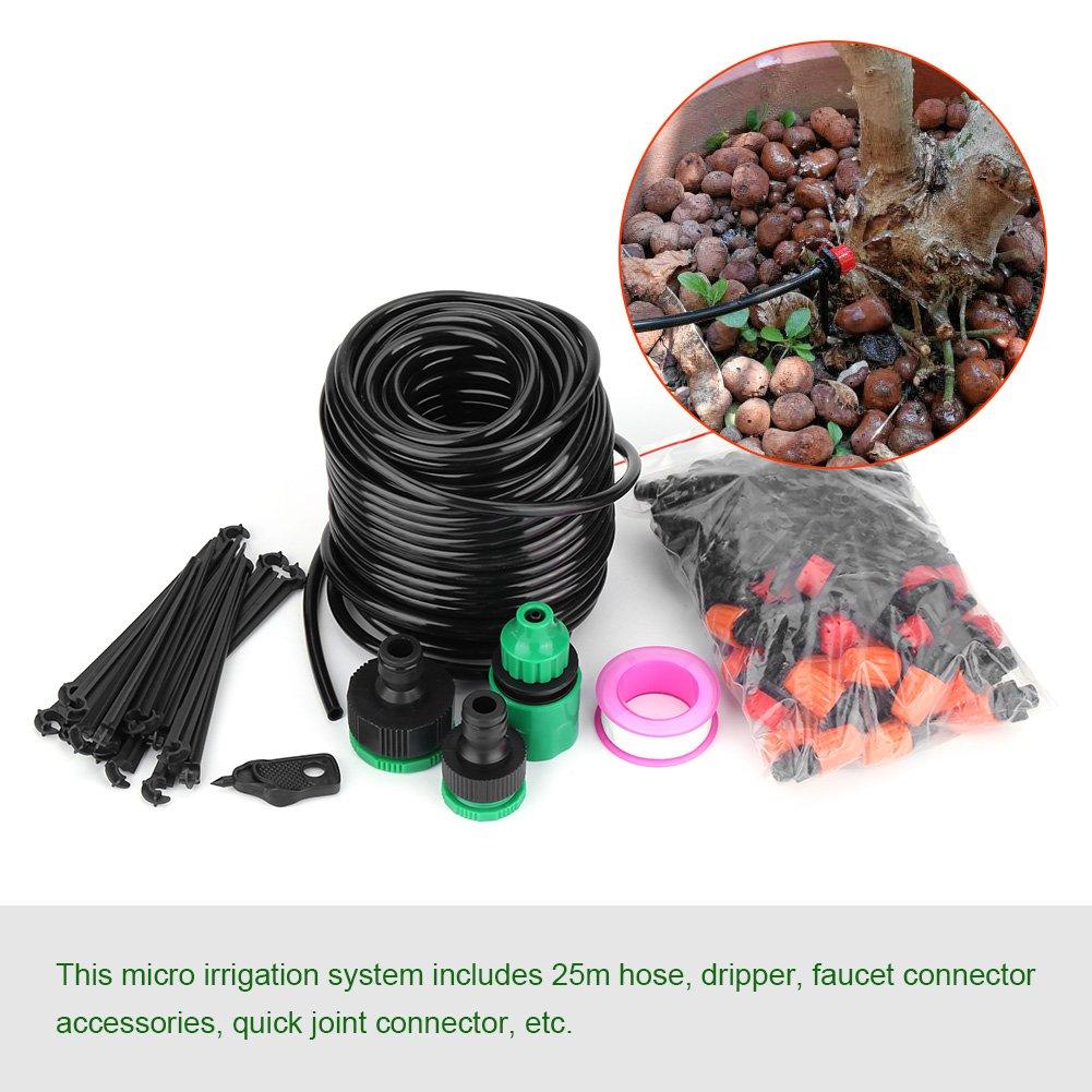 Bewässerungssystem Garten Bewässerungsset Gartenbewässerung Sprinkler Tröpfchenbewässerung Automatische Gewächshaus…
