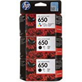 خرطوشة HP 650 Ink Advantage أصلية سوداءمع خرطوشة HP 650 Ink Advantage أصلية ثلاثية الألوان [ CZ101AE ]