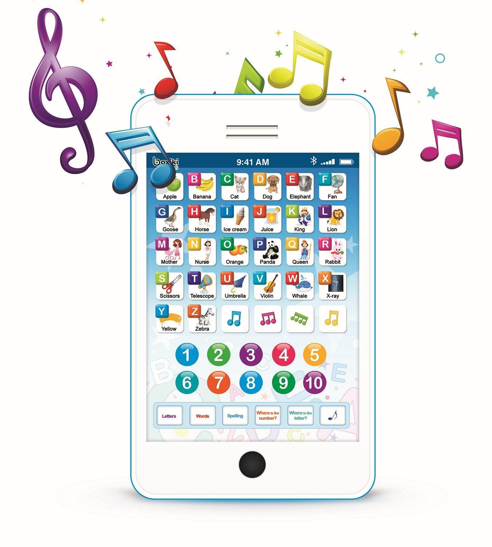 Boxiki Kids Tablet Phone Per Bambini Con 6 Giochi Educativi