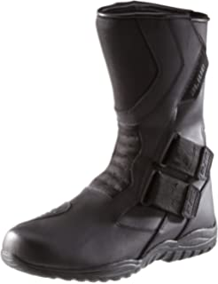 Schwarz Wasserabweisend aus schwarzem Leder mit aufgesetzten Hartschalenprotektoren Protectwear TS-006-40 Motorradstiefel Racing aliue Gr/ö/ße 40