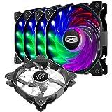 CP3 ventilateur pc à 3 broches, couleur fixe, ventilateur pc 120mm à faible bruit, ventilateur argb haute performance avec ro