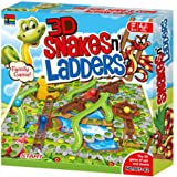 Kingso 3D Snake And Ladders Action Game, Multi-Colour, 007-82