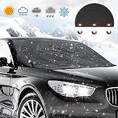 Frontscheibe Abdeckung, isimsus Auto Scheibenabdeckung Winterschutz Magnet Faltbare Abnehmbare Der perfekte Schutz für die Windschutzscheibe gegen Schnee, EIS, Frost und Sonne (210 * 120cm)