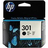 P 301 Schwarz Original Genuine Tintenpatrone für HP Deskjet 1000 1010 1050 1050 A 1050se 1510 1512 1514 - keine externe Verpa